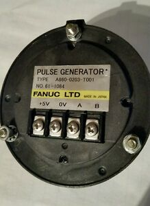 Fanuc Pulse Encoder Hand Wheel Mpg A860 0203 t001 A8600203t001