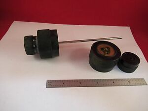 Leitz Laborlux Knobs Pair Assembly Microscope Part f7 07