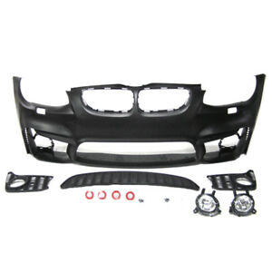 M4 Style Front Bumper With Fog Lights W O Pdc For Bmw 2011 2013 3series E92 E93