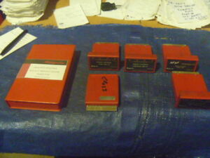 Snap On Tools Cartridges Lots Of 5