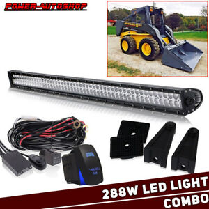 Ford New Holland 50 Inch Led Light Bar Kit Ls120 Ls125 Ls140 Ls150 Ls160 qi