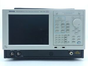 Tektronix Rsa6114a Real time Spectrum Analyzer 9 Khz To 14 Ghz Loaded
