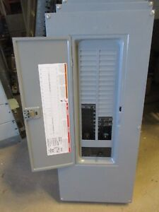Square D 200 Amp Main Breaker Load Center 1 120 240 Volt 40 Circuit e2157