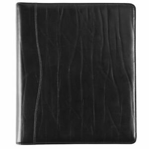 Western Coach Leather Open 1 Inch Planner Cover Folio Size Planner
