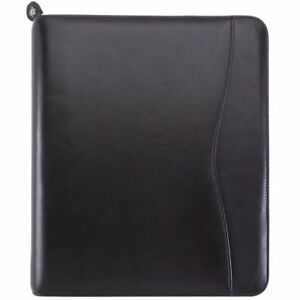 Verona Leather Zippered Planner Cover Folio Size Planner Covers