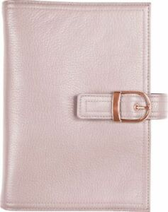 Malibu Leather Snap tab 1 Inch Planner Cover Portable Size Planner