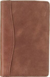 Distressed Leather Planner Cover Compact Size Wallets
