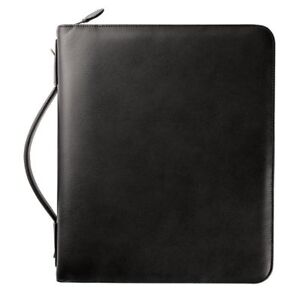 Armorhide Leather Zippered 2 Inch Planner Cover Folio Size Planner