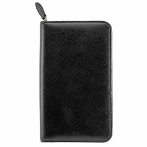 Armorhide Leather Zippered Planner Cover Pocket Size Wirebound