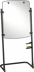 Quartet Silhouette Total Erase Whiteboard flipchart Easel With Black Frame