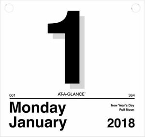 At a glance Today Is Daily Wall Calendar Refill For K4 Wall Calendars
