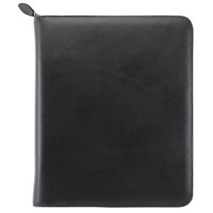 Armorhide Leather Zippered 1 5 Inch Planner Cover Folio Size Planner