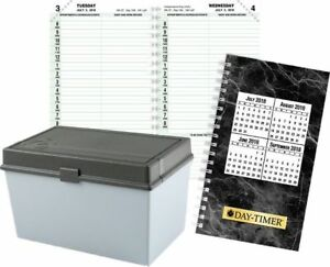 1 page per day Planner Refill Compact Size