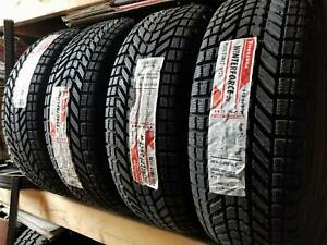 4 New Firestone Winterforce Uv P215 65r16 Tires 2156516 215 65 16
