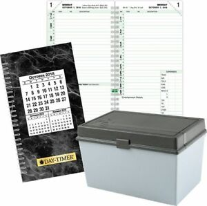 2 page per day Recorday Planner Refill Pocket Size