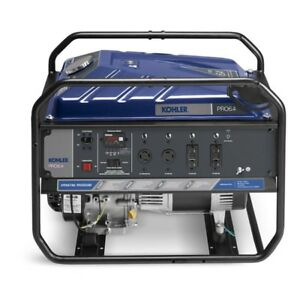 Kohler Pro6 4 6 4kw Gas Portable Generator U spec Tri Fuel Lp Ng Compatible