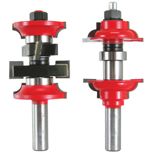 New Freud Tools 99 277 1 7 8 dia Entry Interior Door Router Bit System