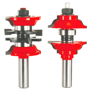 New Freud Tools 99 268 1 7 8 dia Entry Interior Door Router Bit System