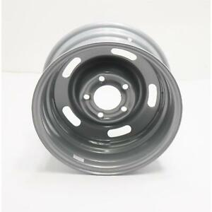 Speedway Steel Gm Style 15x7 Rally Wheel 5 On 5 Silver