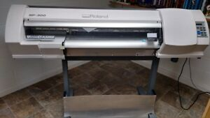Roland Sp 300 Versacamm Printer Cutter Wide Format