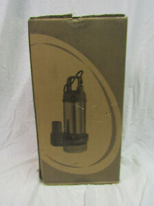 New Stancor Se 100 Submersible Pump Model 460v 3 Phase 1hp