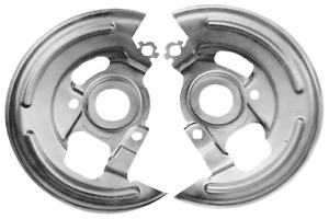 Backing Plates For 1969 1972 Models With Front Disc Brakes