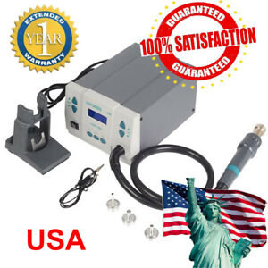 Fast Quick861dw Lead free Disassembly Station 1000w High power Hot Air Us