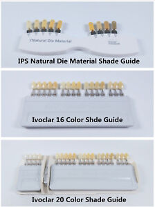 Ivoclar Vivadent Dental Teeth Shade Guide A d Color Porcelain Teeth Basedon Vita
