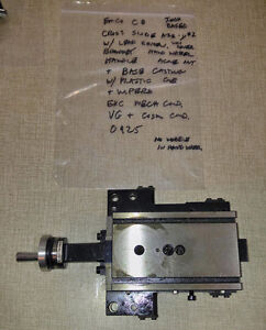 Emco Compact 8 Lathe Cross Slide Table Assembly 2 Inch Based 0925