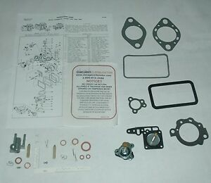 1960 s Ford 200 Carb Kit Holley 1 Barrel Model 1904 Industrial