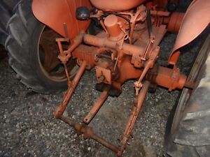 Case Vac Tractor Eagle Hitch complete