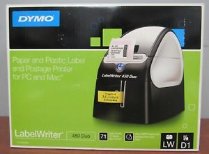 Dymo 1752267 Labelwriter 450 Duo Thermal Label Printer Label Maker 8d
