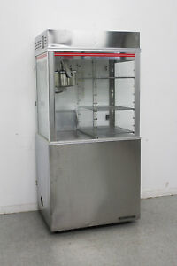 Used Gold Medal 1618ets 16 Oz Popcorn Machine Display Warmer W cabinet