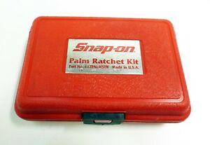 Snap On Palm Ratchet Kit Usa Tools Box Only