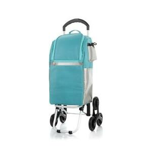 Cooler Bag With Stair climbing Wheel Technology