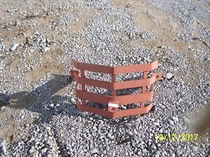 Ford 2n 8n 9n jubilee naa 600 800 601 801 Ford Tractor Front Bumper Brush Guard