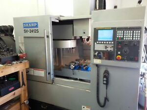 Sharp Sv2412s Cnc Vertical Mill 2012