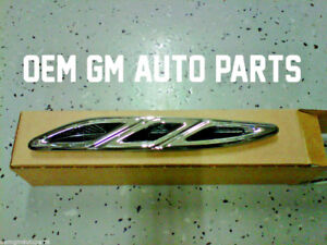 New Gm Oem 2010 2013 Buick Lacrosse Right Chrome Hood Louver Vent Trim 20811308