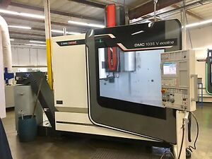 2013 Dmg Mori Seiki Vertical Cnc Machining Center Dmv 1035 V Ecoline