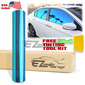 20 x10ft Uncut Chameleon Mirror Neo Chrome Window Tint Film Car Office Glass