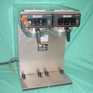 Bunn Cw Series Twin Pot Hot Brewing Coffee Machine W dual Filter Baskets