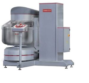 Brand New Thunderbird 280 Qt Quart Self emptying Spiral Dough Mixer Asp 160l
