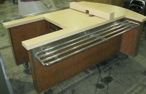 Cash Register Stand Portable Buffet Checkout Cart Catering