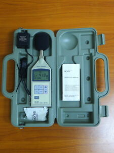 Ono Sokki La 210 Sound Level Meter