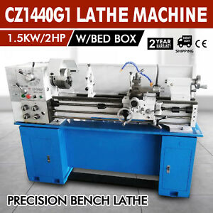 Cz1440g1 Metal Lathe Machine Variable Speed Woodworking 4handless Gearbox Great