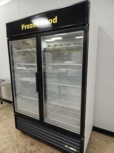 True 2 glass Door Merchandising Freezer Gdm 49f