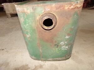 Oliver 880 Tractor Gas Tank Clean