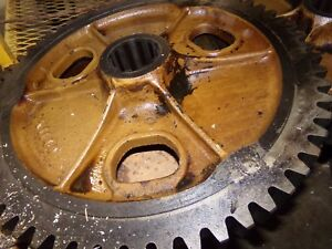 Oliver 88 Gas Tractor Bull Gear K 1140