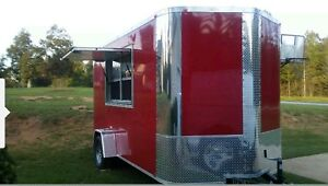 Food Trailer Ready To Work 5 Cooking Items Large Sinks Ac