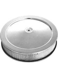 Rpc 14 X 3 Chrome Steel Muscle Car Style Air Cleaner With Dominator R2395